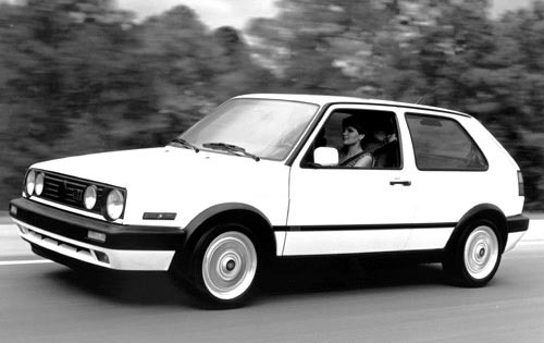 1992 Volkswagen GTI - Photo: Edmunds.com